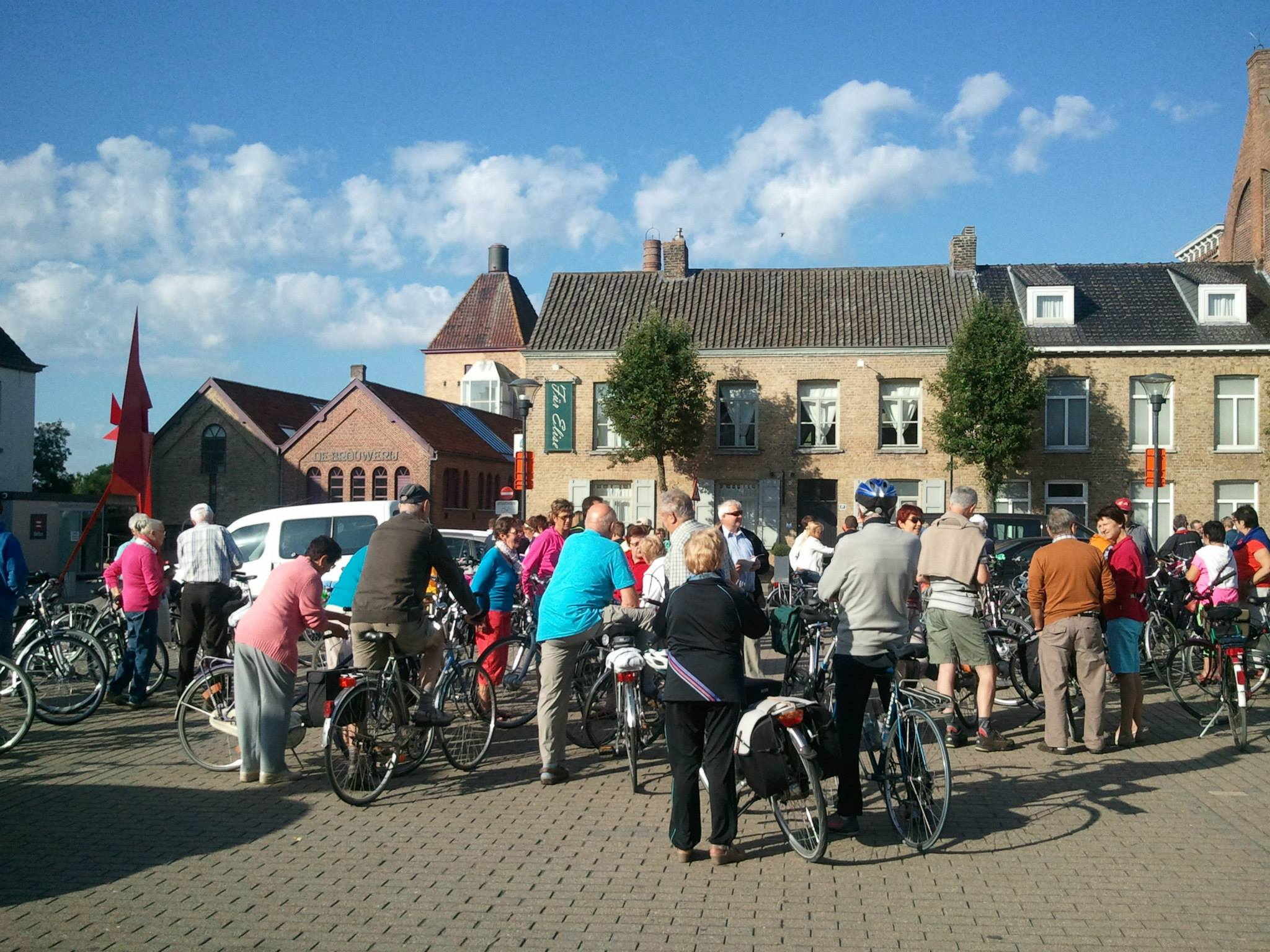 Cycling in Koekelare