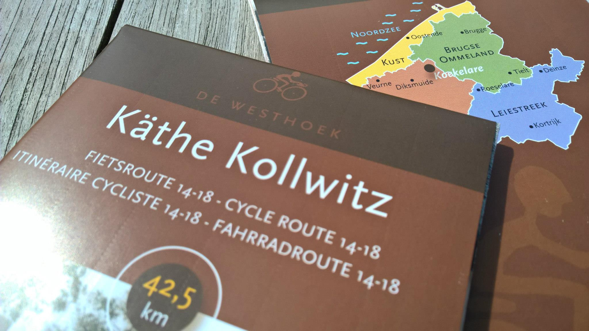 Käthe Kollwitz - Cycling route 14-18