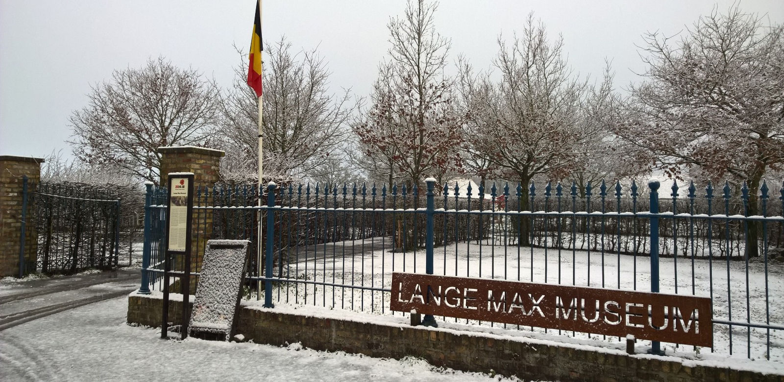 Lange Max Museum in de winter
